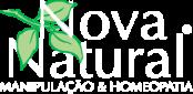 Nova Natural farmácia de manipulação e homeopatia Campinas logotipo white
